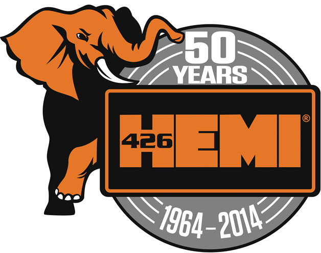 Gen II 426 Hemi 50th Anniversary Logo