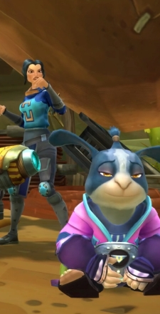 The chua in front could count as my inexplicably short self-insertion character