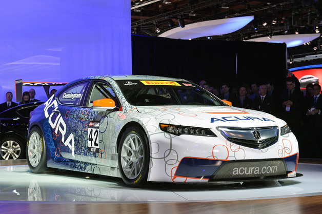 acura tlx gt racecar bringing the 39 x factor 39 to pirelli world challenge. Black Bedroom Furniture Sets. Home Design Ideas