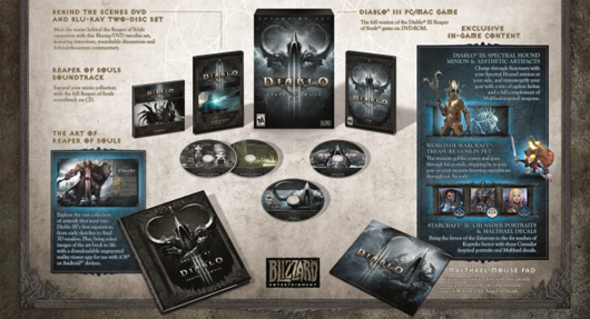 Reaper of Souls CE box