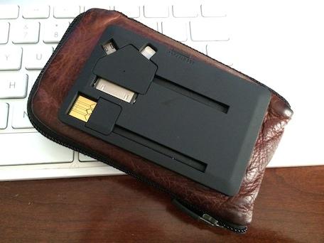 Jumper Card on a wallet
