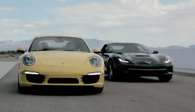 Drive compares Porsche 911 with Chevy Corvette Stingray