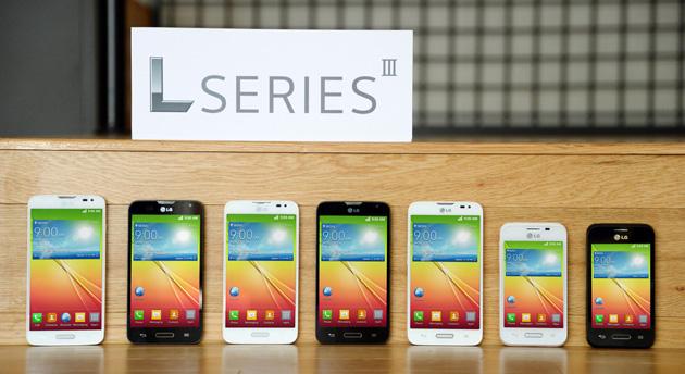 LG L Series III smartphones