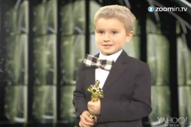 Kids perform famous Oscar acceptance speeches