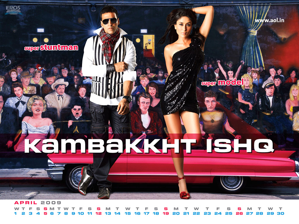 Kareena, Akshay - Kambakkht Ishq Wallpaper - AOL Bollywood