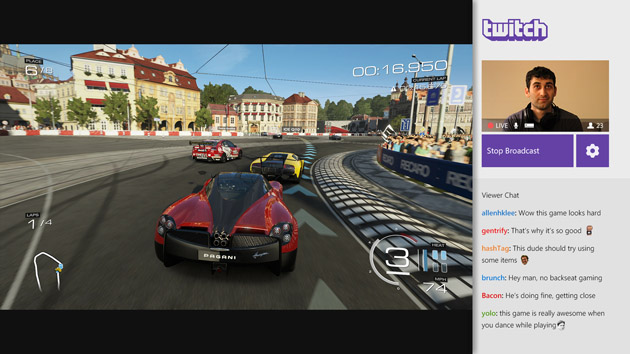 Twitch game broadcasting goes live on Xbox One
