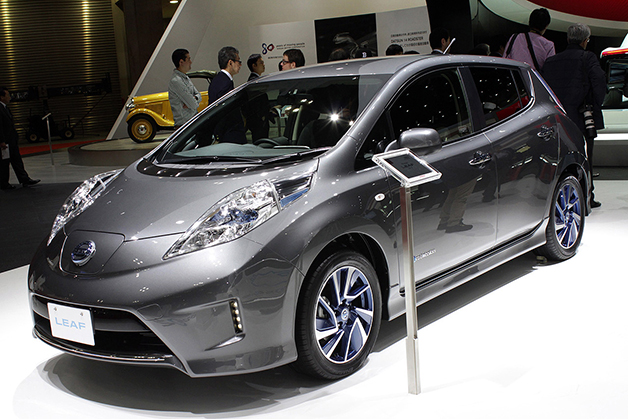 Nissan leaf 2017 modeller