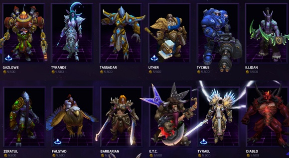 Hero rotation slot heroes of the storm