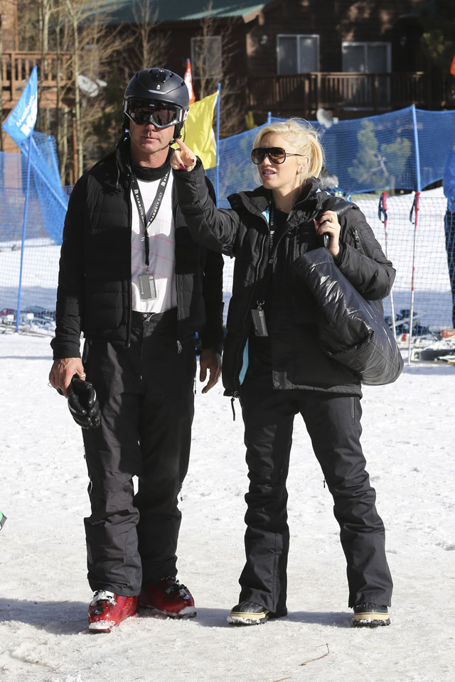 Gwen Stefani and Gavin Rossdale take their kids to Mammoth Lakes, CA. <P> Pictured: Gwen Stefani and Gavin Rossdale <P> <B>Ref: SPL674316  301213  </B><BR/> Picture by: Ako/Splash News<BR/> </P><P> <B>Splash News and Pictures</B><BR/> Los Angeles: 310-821-2666<BR/> New York: 212-619-2666<BR/> London: 870-934-2666<BR/> photodesk@splashnews.com<BR/> </P>