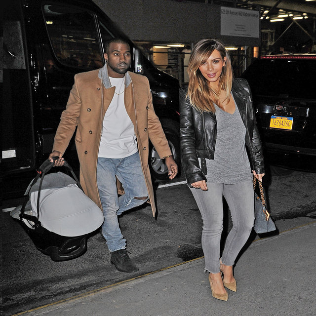 Kim Kardashian and Kanye West take baby North out for a dinner with Kris Jenner in Midtown, NYC.<P>Pictured: Kim Kardashian, Kanye West and North West<P><B>Ref: SPL655658  221113  </B><BR/>Picture by: Splash News<BR/></P><P><B>Splash News and Pictures</B><BR/>Los Angeles: 310-821-2666<BR/>New York: 212-619-2666<BR/>London: 870-934-2666<BR/>photodesk@splashnews.com<BR/></P>