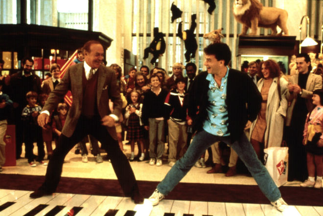 big piano scene tom hanks