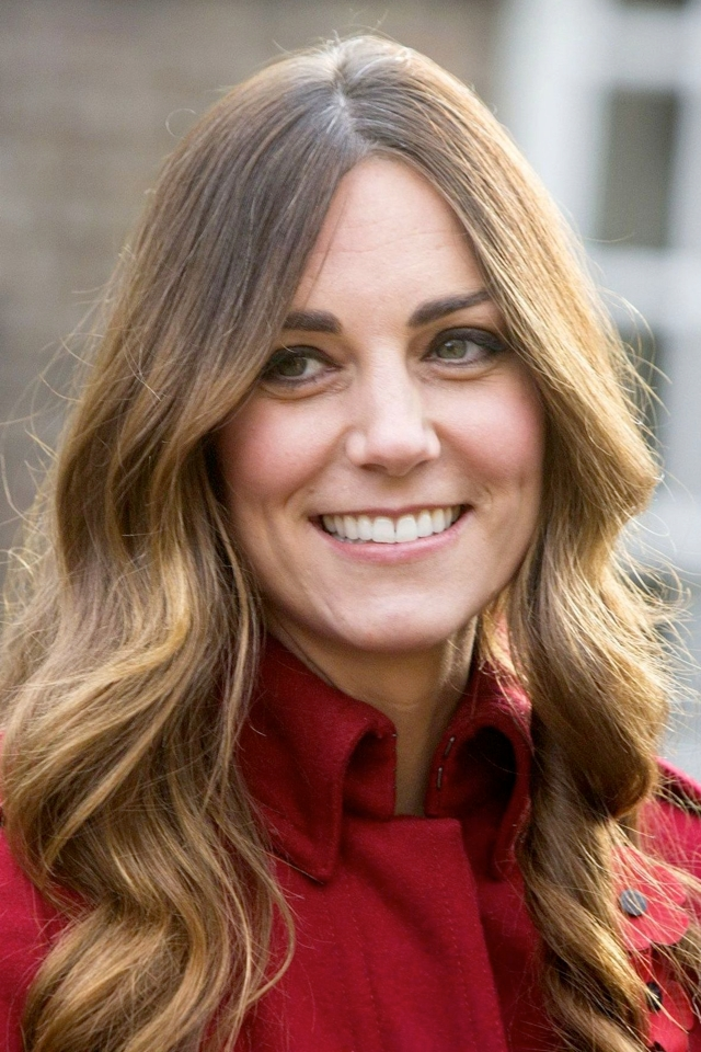 Kate Middleton grey hair