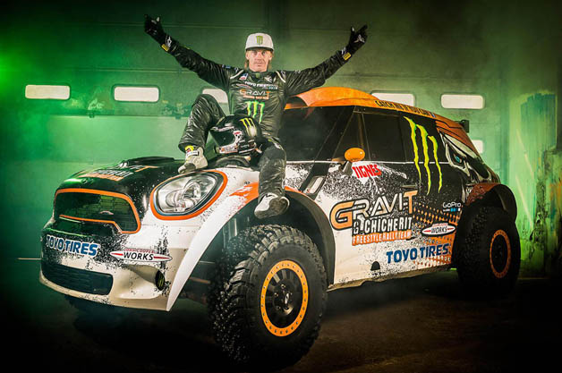 Guerlain Chicherit going for world record for longest car jump