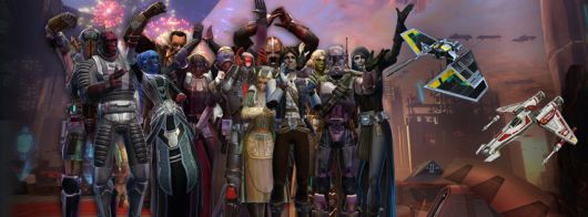 Star Wars: The Old Republic second anniversary banner