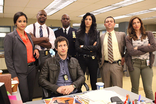 brooklyn nine-nine with Andy Samberg