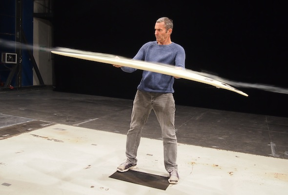 Mercedes-Benz Design entwirft Surfboards für die Surflegende Garrett McNamara // Mercedes-Benz Design creates surfboards for surfing legend Garrett McNamara
