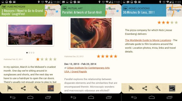 Google's Field Trip app adds ratings to its recreational recommendations