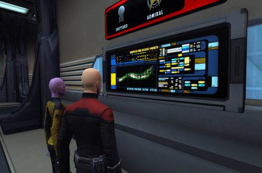 STO Earth Spacedock Interface