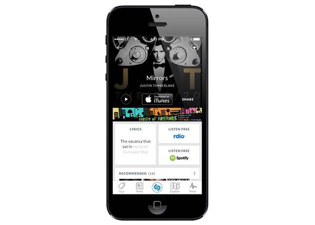 Shazam for iPhone