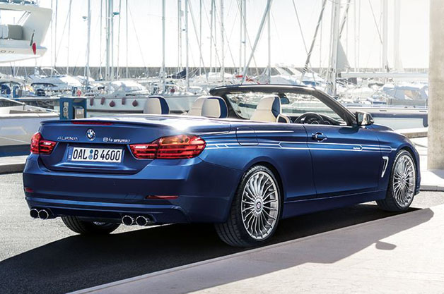 Alpina bringing new B4 Bi-Turbo Cabrio to Geneva