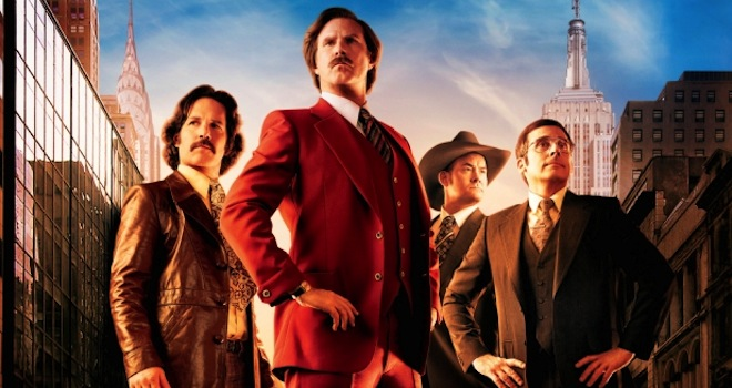 Anchorman 2 new poster