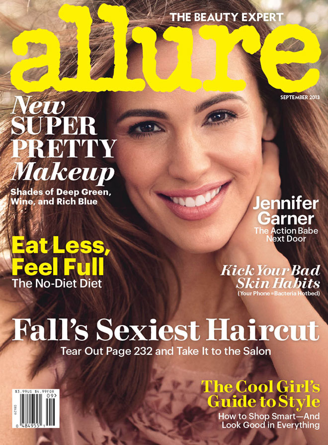 Jennifer Garner Covers Allure's September 2013 Issue