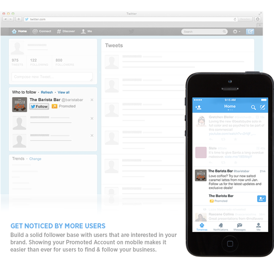 Twitter search results get advertising via 'Promoted' users