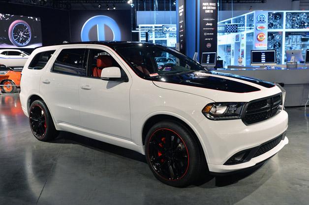 Custom 2014 Dodge Durango R T Proves Sema Can Be Subtle