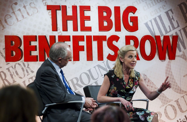 the big benefits row, katie hopkins