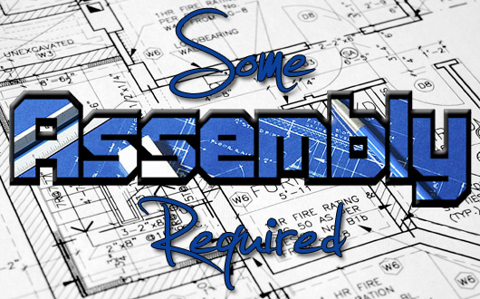Some Assembly Required architectural plans