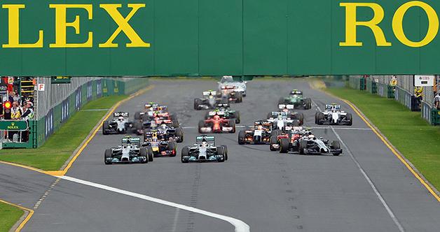 Opening of the 2014 Australian F1 Grand Prix