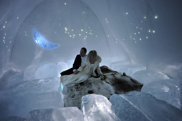swedish ice hotel forced to install fire alarms aol uk. Black Bedroom Furniture Sets. Home Design Ideas