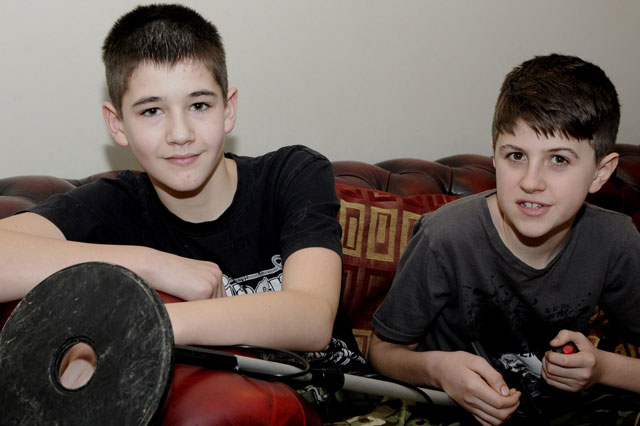 Boys find World War II anti tank shells and spark bomb scare