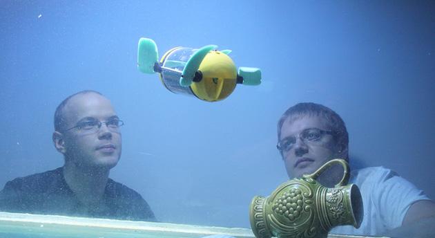 U-CAT robot sea turtle