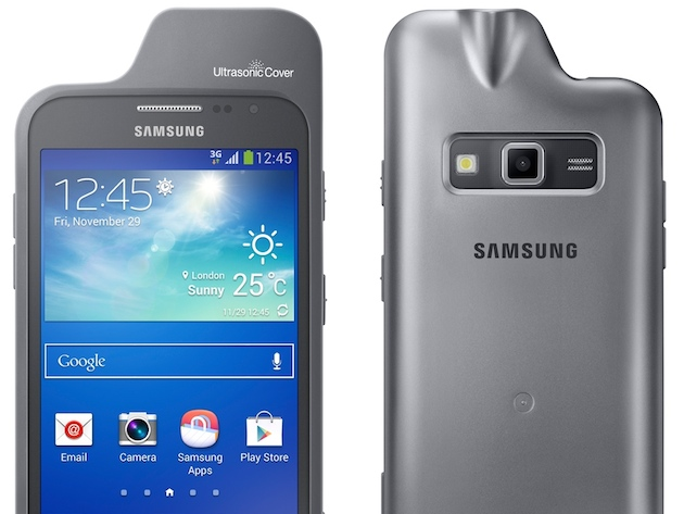 Samsung adapta el Galaxy Advance Core a los invidentes con una funda que detecta obstáculos