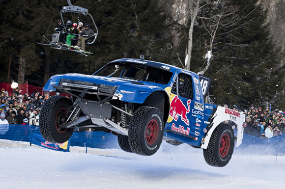 Rick Johnson in action during the finals at Red Bull Frozen Rush at Sunday River in Newry, Maine, USA on 10 January, 2014.
