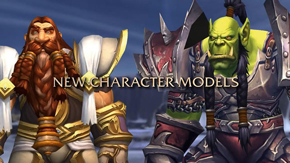 New character models