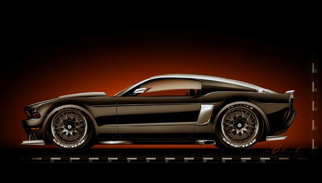 Ford Mustang Hollywood SEMA show car