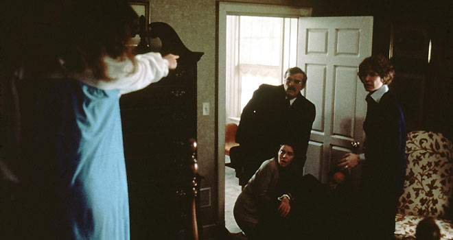 the exorcist, linda blair, ellen burstyn