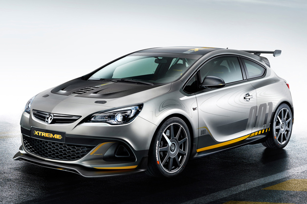 Vauxhall reveals stripped-out Astra VXR Extreme front-drive track toy