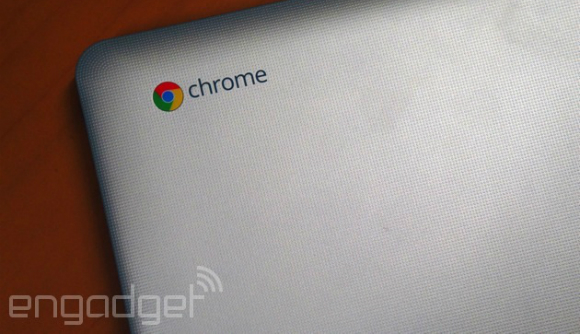 Toshiba Chromebook picture