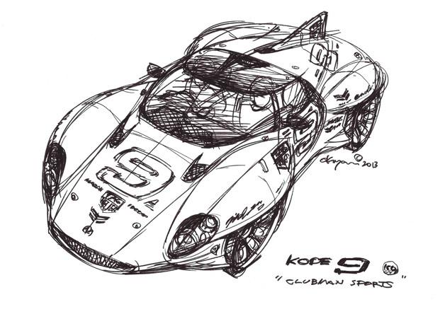 【レポート】奥山清行が手掛けたスポーツカーが東京モーターショーでお披露目