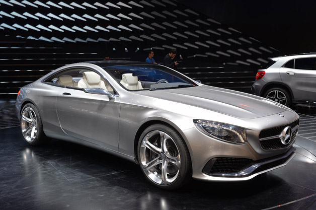 Mercedes Concept S Class Coupe Is Two Door Indulgence W