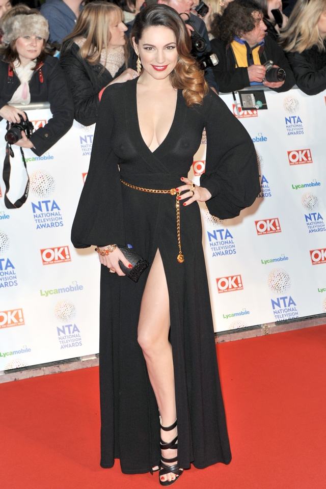 kelly-brook-national-television-awards