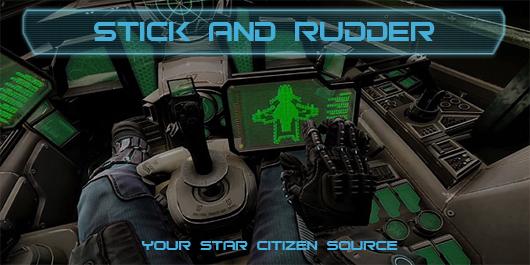 Stick and Rudder - Star Citizen cockpit