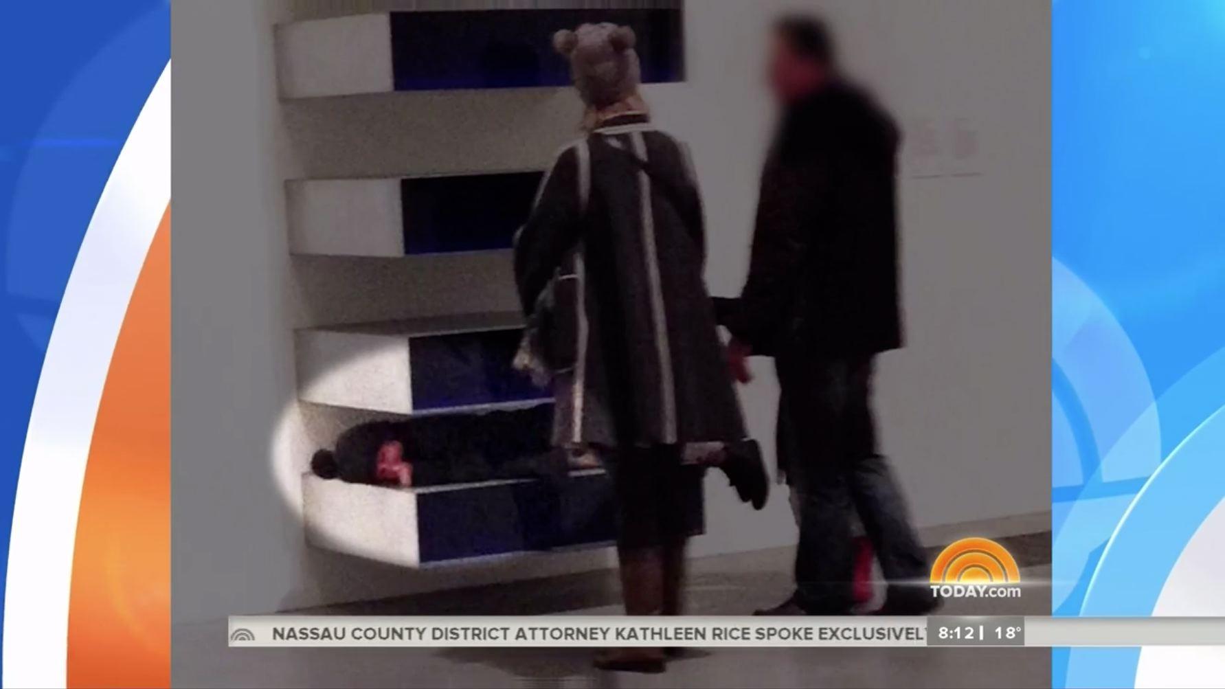 Kids horrify museum-goers in museum
