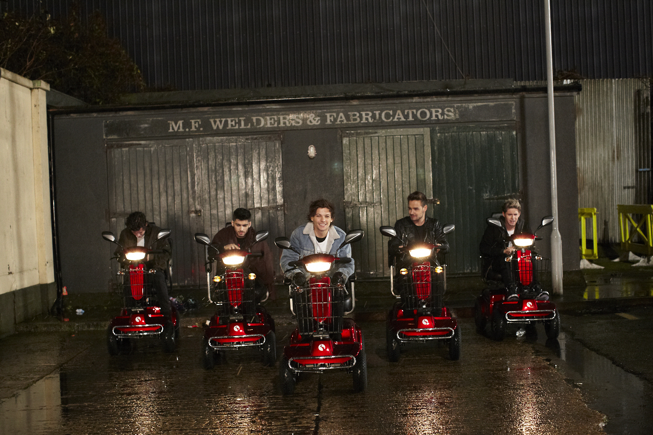 New One Direction Midnight Memories music video teaser