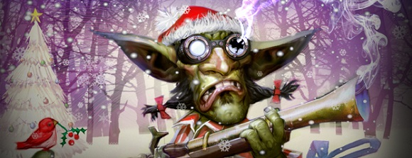 Goblin with Red Rider rifle