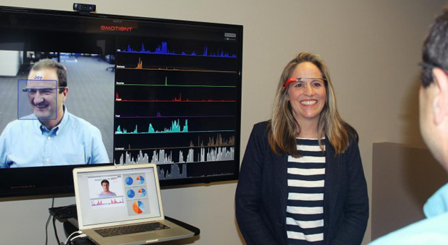 Emotient face tracking on Google Glass