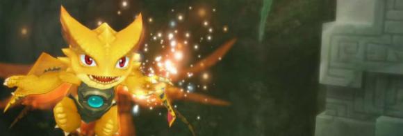 Cute Aura Kingdom dragon screenshot
